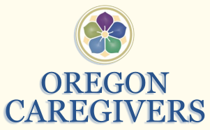 oregon caregivers and a flower